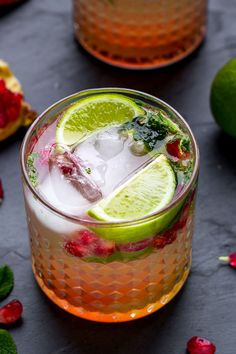 With healthy antioxidants, this Pomegranate Mojito Recipe is the perfect excuse to enjoy a glass (or two) in the kitchen with your best friend during the holiday festivities. How can you go wrong