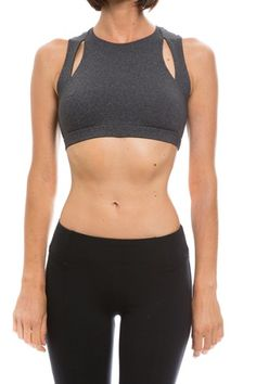 05ac8f7c3272f SOLOW - Angled Strap Sports Bra Sports Luxe