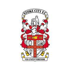 Stoke City Football Club - England (Old logo) English Football Teams, British Football, European Football, Football Fans, Badges, Stoke City Fc, Bristol Rovers, Soccer Logo, City Logo