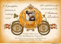 Pumpkin Prince/Princess Shower Invitation
