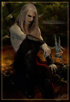 Prince Nuada - Small Comfort by GabbyLeithsceal.deviantart.com on @DeviantArt