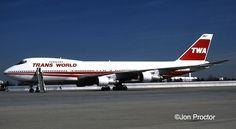 TWA Boeing 747