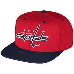 Washington Capitals Flat Brim Hats