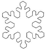 snowflake clipart - Google Search