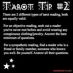 Tarot Tip # 2