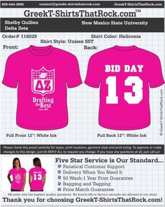 delta_zeta_116029proof ................................................... ................................................... WORK  1 ON 1 with a member of our design team until your  T-Shirt ideas are perfect.... and ALWAYS them on in time (before you even need them) at the price you want! ......................................................................................................  JUST CLICK THIS IMAGE TO UPLOAD YOUR IDEAS & WE'LL EMAIL A PROOF FOR YOU TO SHOW YOUR CHAPTER