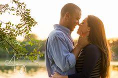 White Rock Lake - Engagement photos - Amy Herfurth Photography