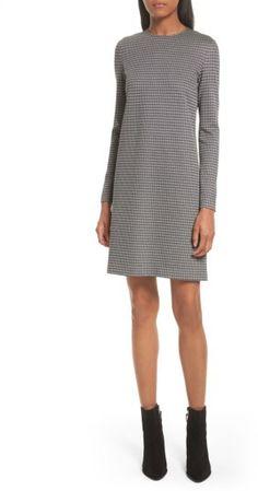 26c26ae7f8f7 Women s Theory Wynter Houndstooth Knit Dress Houndstooth Dress