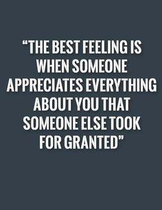 The best feeling is when