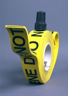 Crime Scene Tape Teapot | cool!