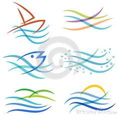 Water Sea Logo
