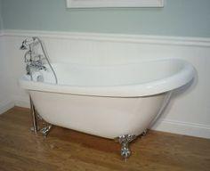 Ferdinand Clawfoot Slipper Tub & Faucet free standing