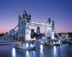 PUZZLE TOWER BRIDGE LONDRES INGLATERRA ( Ref:  0000033527 )