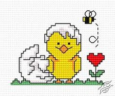 Bildergebnis für Spring Cross-stitch Patterns