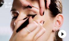 Eyeliner richtig auftragen - http://lounge.loreal-paris.de/makeuplounge/eyeliner-richtig-auftragen/