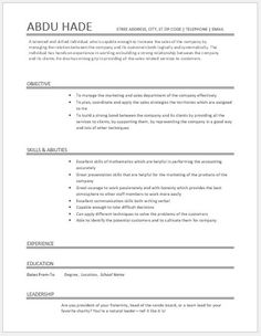 Account Executive Resume Download At HttpWriteresumeOrg