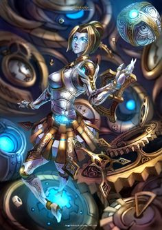 Enhance your battlefield strategy for LOL (League of Legends) with champion build guides at EloHell. Learn and discuss effective strategy from LOL community and dominate the field to win. League Of Legends Characters, Lol League Of Legends, Character Concept, Character Art, Character Design, Starcraft, Campeoes Lol, Orianna League Of Legends, Legend Images