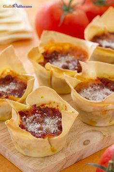 Lasagne cupcake: preparate in monoporzioni, sono una portata originale da servire a tavola!