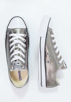Converse CHUCK TAYLOR ALL STAR - Sneaker low - metallic herbal/white/black - Zalando.de