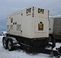 Cat 100 kW Standby Generator