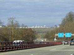 ...auf der Autobahn Richtung Karlsruhe...