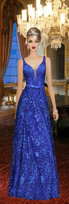 Fashion Dress Up Games, Fashion Show, Fashion Dresses, Girl Fashion, Covet Fashion, Evening Dresses, Prom Dresses, Formal Dresses, Lace Dress Styles
