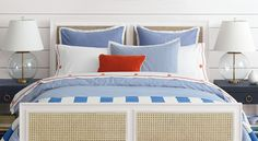 Classic Nautical Bedroom Suite l Coastal Bedrooms l www.DreamBuildersOBX.com
