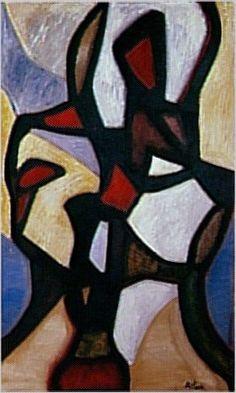 Jean-Michel Atlan I La Kahena, 1958