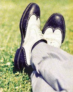 Wing tips, once a staple in young men's wardrobes, later came to be associated with conservative businessmen.