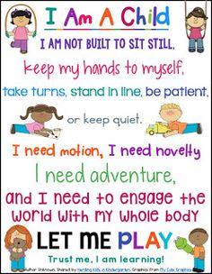 https://www.teacherspayteachers.com/Product/I-Am-A-Child-Posters-2023086