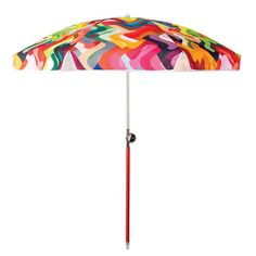 Wonderland Sun Beach Umbrella by Basil Bangs