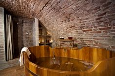 The Beer Baths found in the Chodovar Family Brewery offers unique and unconventional forms of rest and relaxation!