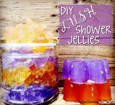 DIY Lush shower jellies! By now I'm sure you've heard of, or maybe even used, some of those wonderful shower jellies sold by Lush. If you haven't, you're missing out! Shower jellies are a type of gelatinous soap that is sort...