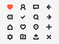 Dogood Icons designed by Bo Mouridsen for Nodes Digital. Connect with them on Dribbble; App Design, Icon Design, Mobile Design, Flat Design, Web Layout, Design Layouts, Website Layout, Mobile Ui Patterns, Light Icon