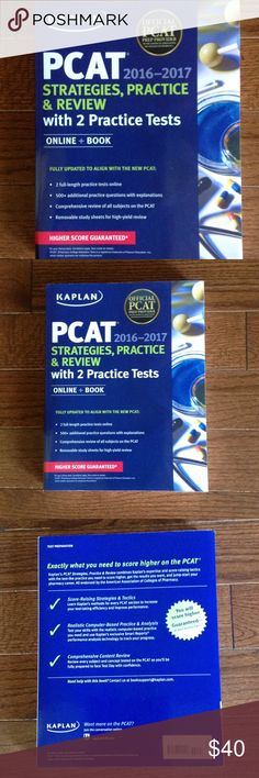 Kaplan PCAT '16-'17 Strategies, practice & review Paperback book, fully updated to align with the new PCAT, higher score guaranteed. Test preparation. Kaplan Other