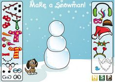 Interactive Learning Sites for Education - not just winter stuff. Grammar, parts of speech, antonyms, etc.