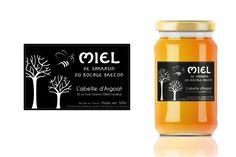 Etiquette pour pots de miel