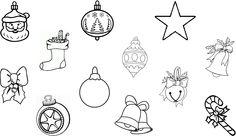 Kerstballen- zoek de juiste schaduw erbij