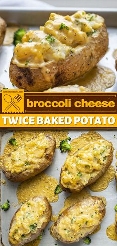 Broccoli Cheese Twice Baked Potato is a healthy spin on a classic potato recipe! This easy dinner idea starts with baked potatoes drenched with homemade cheddar cheese. This potato recipe is one of the best side dish recipes! Broccoli Cheddar, Broccoli And Cheese, Cheddar Cheese, Best Side Dishes, Side Dish Recipes, Homemade Cheese Sauce, Easy Homemade Recipes, Twice Baked Potatoes, Easy Dinners