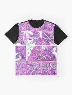 """Tunstall Tile"" Graphic T-Shirt by jurast V Neck T Shirt, Shirt Dress, Chiffon Tops, Tile, Classic T Shirts, Hoodies, Mens Tops, Stuff To Buy, Dresses"