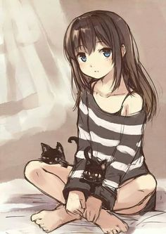 .Sage didn't know why the cats followed her everywhere she went but they didn't bother her they were comforting: so why does everyone avoid them like the plague