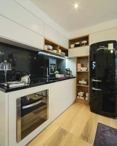 Bom dia!  Inspiração para cozinha. ❤ Por Fernanda Marques #Inspiração #decoração #decorando #amazing #archilovers #photography #designdeinteriores #campinas #details #decor #style #designdecor #interiordesigner #decoration #bomdia #goodmorning