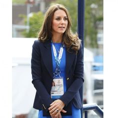 All Of Kate Middleton's Favourite High Street Brands | For more about Kate Middleton, click the picture or see www.redonline.co.uk Kate Middleton Pictures, Kate Middleton Style, Duchess Kate, Duchess Of Cambridge, High Street Brands, Maternity Fashion, Fashion News, Queen, Blazer