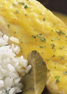 Filetes de Peixe Galo com Laranja