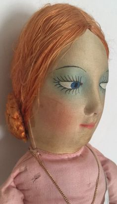 1920's Antique French Boudoir Doll – 31"