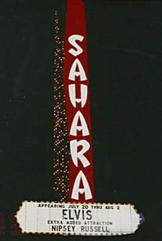 July 24, 1971: Elvis performed a dinner show at 10:00p.m. & a midnight show at the Sahara Hotel, in Lake Tahoe, NV.