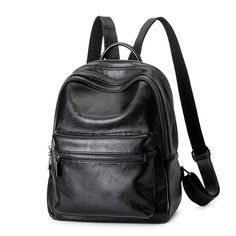 backpack women bag Women Backpack Shoulder Bag Fashion leather bag high quality Young woman with backpack