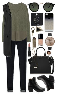 """""""Untitled #305"""" by clary94 on Polyvore featuring Abercrombie & Fitch, Zara, WearAll, Fendi, Opening Ceremony, BlissfulCASE, Olivia Burton, NARS Cosmetics, Chanel and Topshop"""