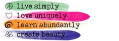 My 8 word mission: Live simply, love uniquely, learn abundantly, create beauty. I 8, Haha, Learning, Create, Words, Beauty, Ha Ha, Studying, Teaching