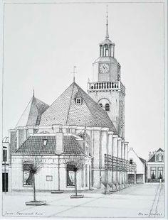 Herv.kerk.  torenstraat Joure
